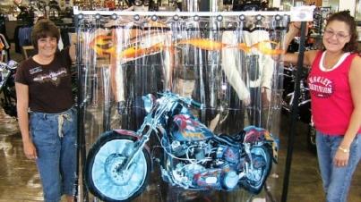 Harley Davidson Shower Curtain I Love Harley Davidson Bikes