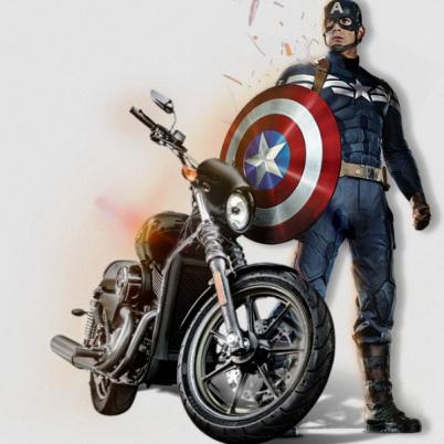 harley davidson s captain america the winter soldier contest i love harley davidson bikes. Black Bedroom Furniture Sets. Home Design Ideas