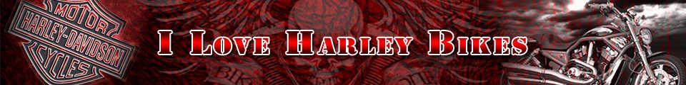 I Love Harley Davidson Bikes