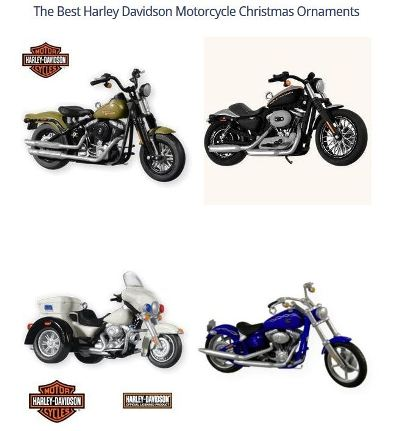 hd8-s - The Best Harley Davidson Motorcycle Christmas Ornaments I Love