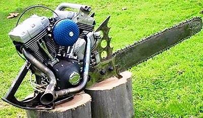 picture of the week chainsaw i love harley davidson bikes harley davidson chain saver 99875-50 Harley-Davidson Mini Bike