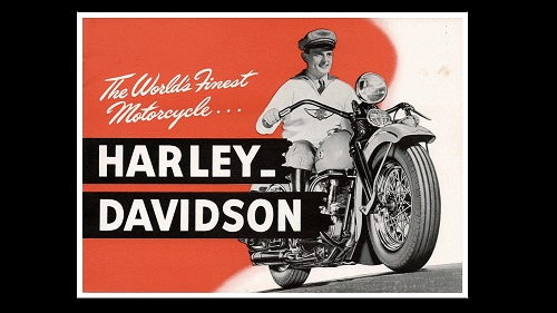 7 Awesome Vintage Harley Ads