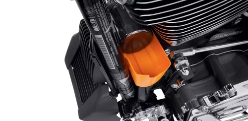 H-D Milwaukee-Eight Oil Catcher and Oil Cooler Cover