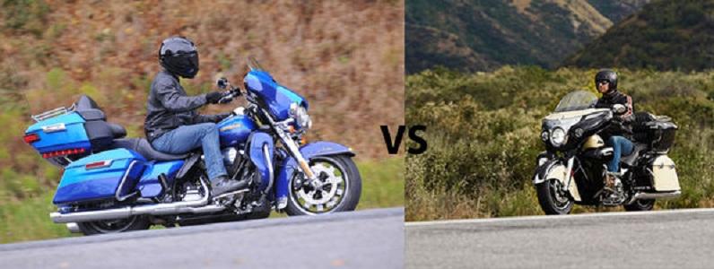 Harley-Davidson Limited VS Indian Roadmaster