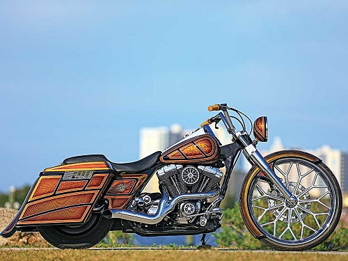 Ray Price's Custom H-D Road King