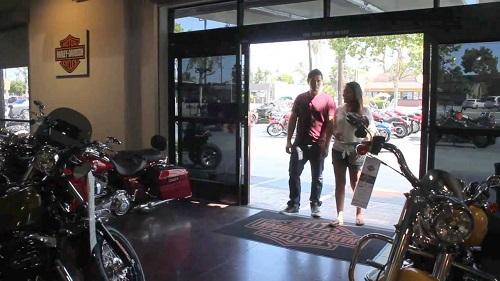Harley Davidson Surprise Present