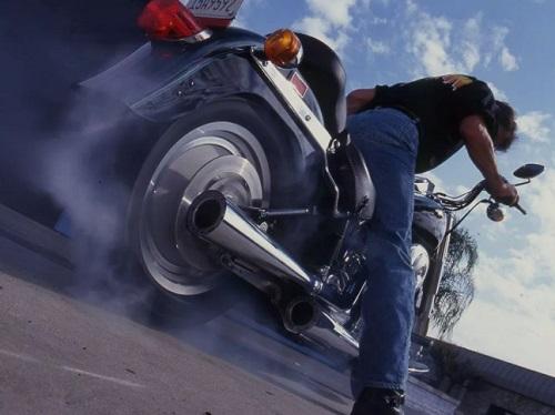 Big-Bang Theory Meets A Harley-Davidson Counterbalanced Softail