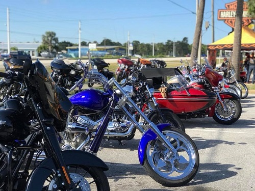 Florida Bikers Host Harley-Davidson Ride to Honor Shooting Victims