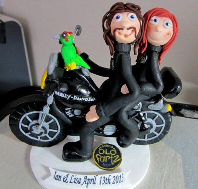 harley davidson road king wedding cake toppers harley davidson wedding cake topper i harley 15070